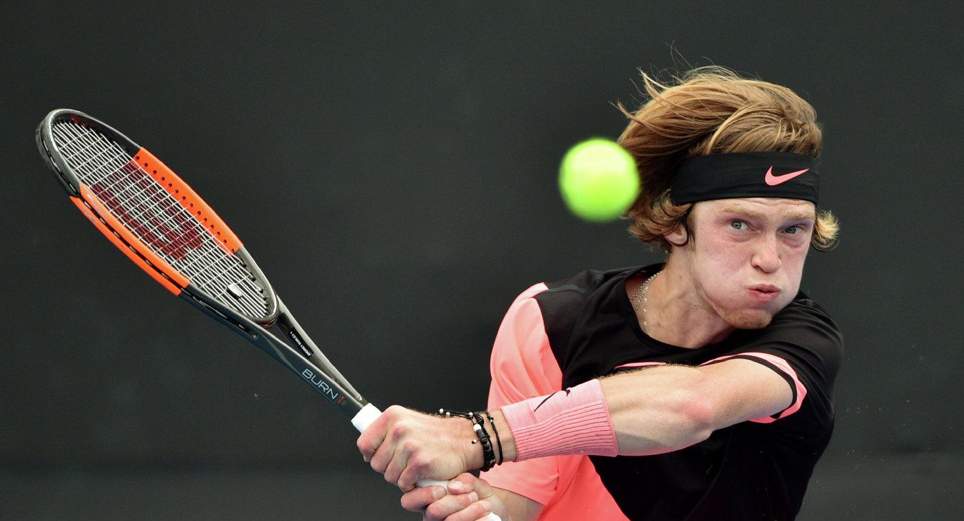Рублев победил Феррера вматче первого круга Australian Open