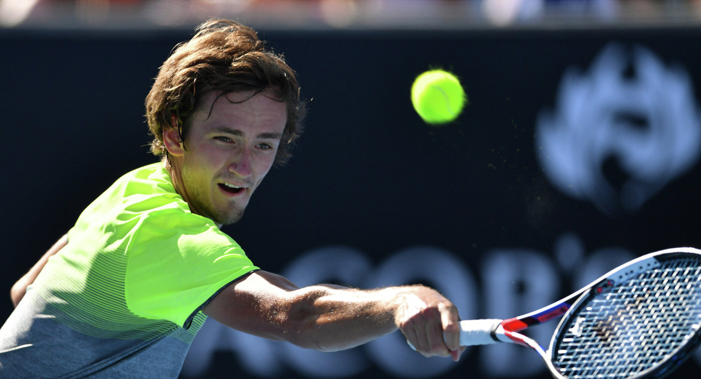 Теннисист Медведев прошел во 2-ой круг Australian Open