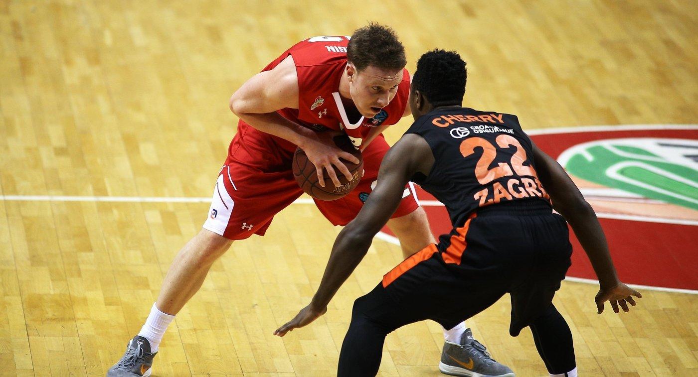«Локомотив-Кубань» обыграл «Цедевиту» вматче баскетбольного Еврокубка