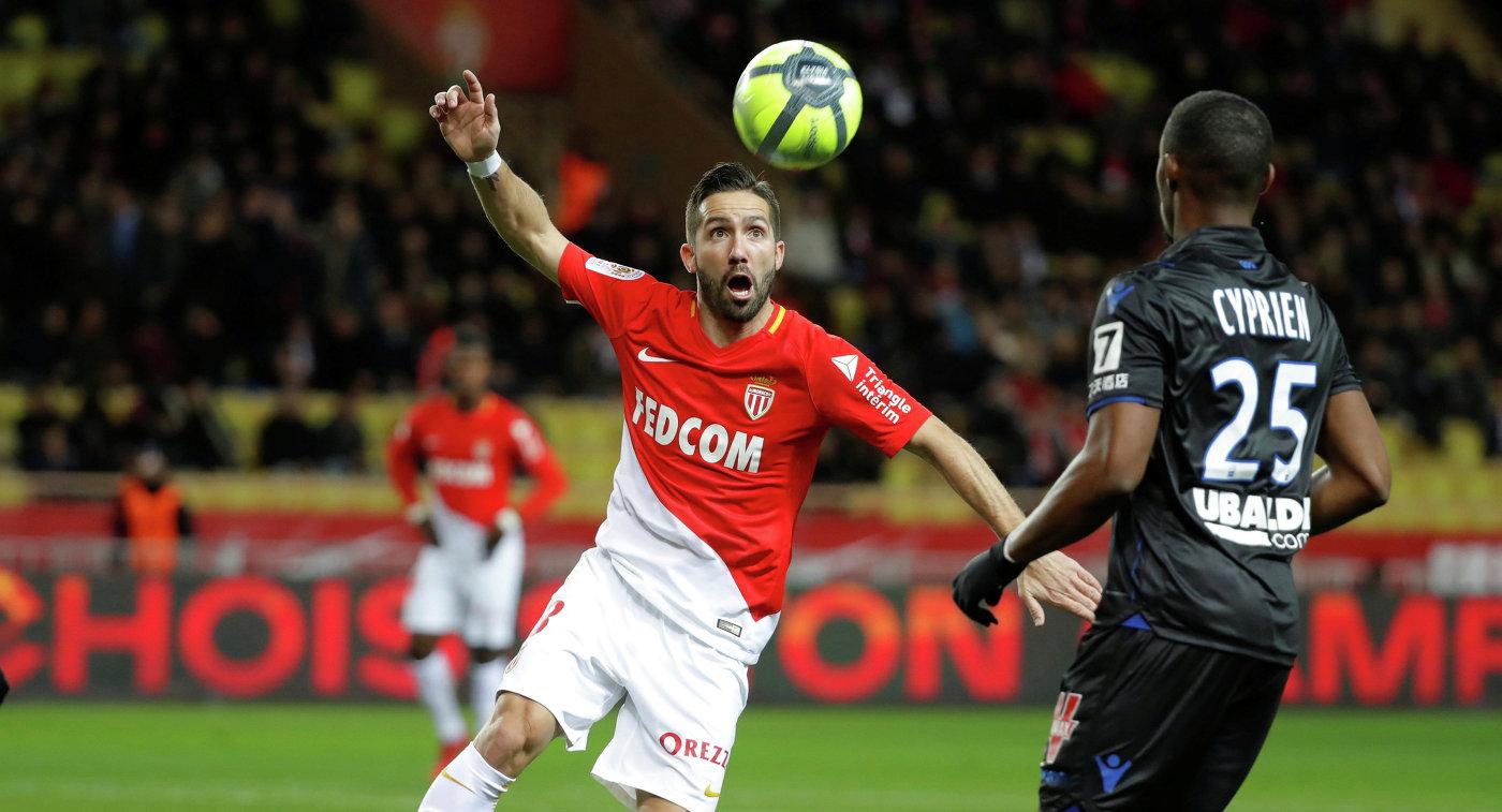 Гол Фалькао спас «Монако» отпоражения вдерби с«Ниццей»