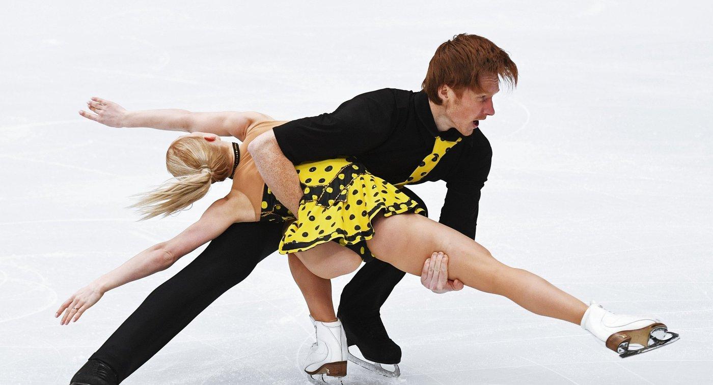 Русские пары заняли весь пьедестал наЧЕ пофигурному катанию