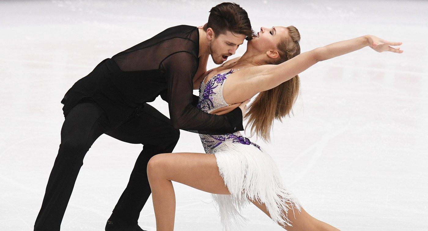 Степанова иБукин идут вторыми после короткого танца начемпионате Европы