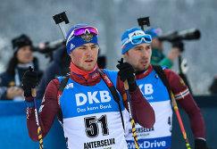 Слева направо: Антон Бабиков (Россия) и Антон Шипулин (Россия)