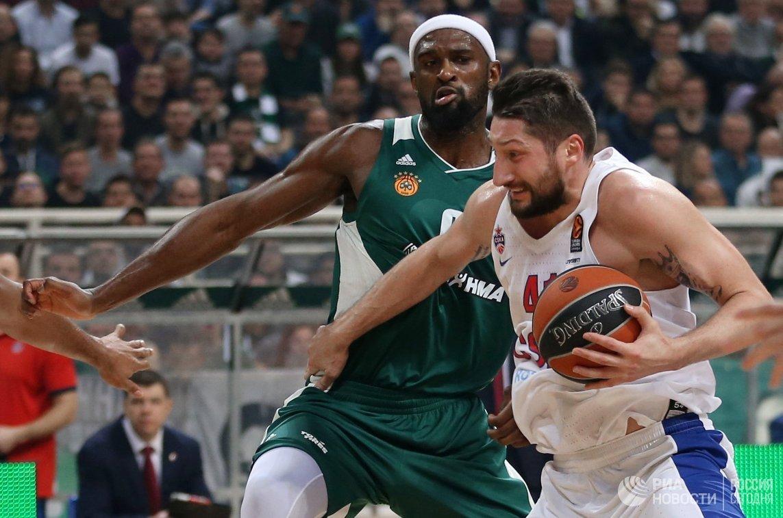 ЦСКА одержал победу у«Панатинаикоса» вматче 19 тура Евролиги