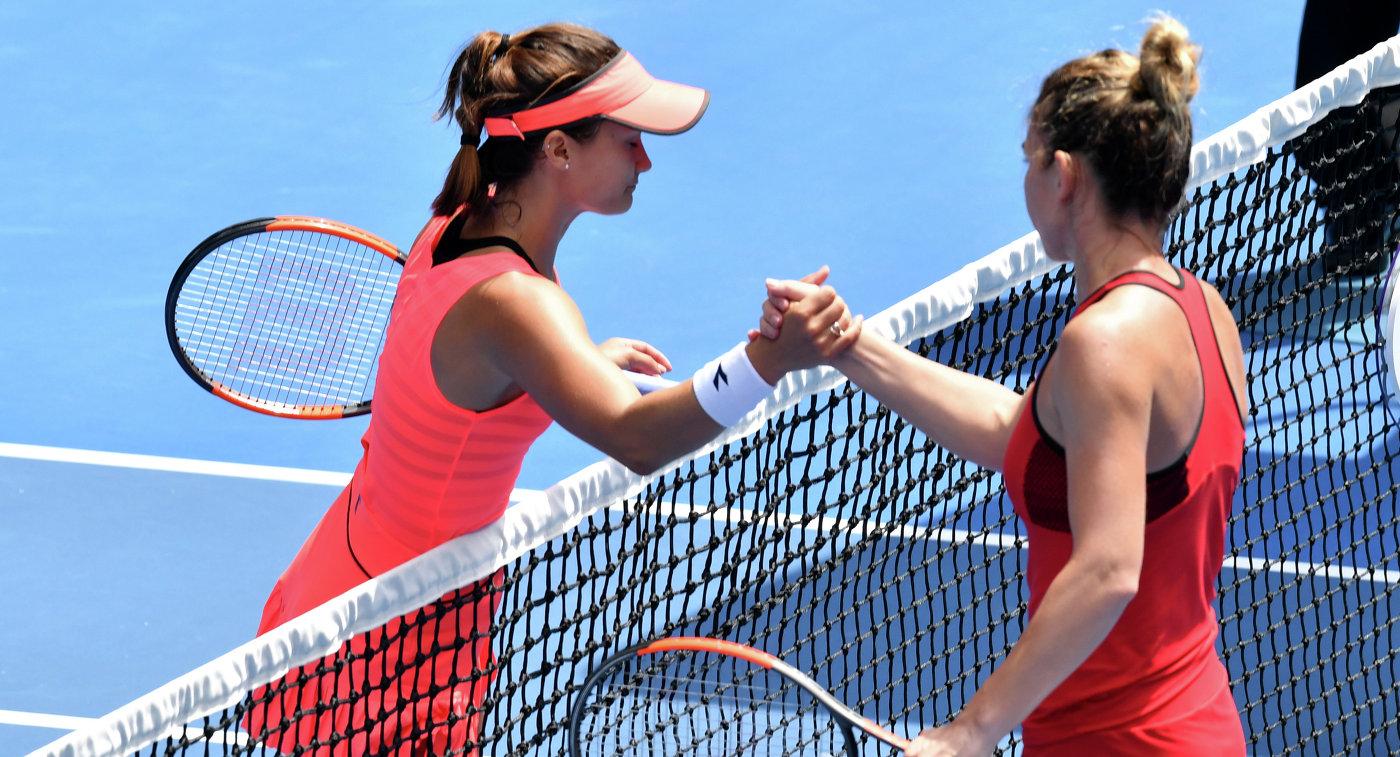 Первая ракетка мира Халеп с трудом вышла в четвертый раунд Australian Open
