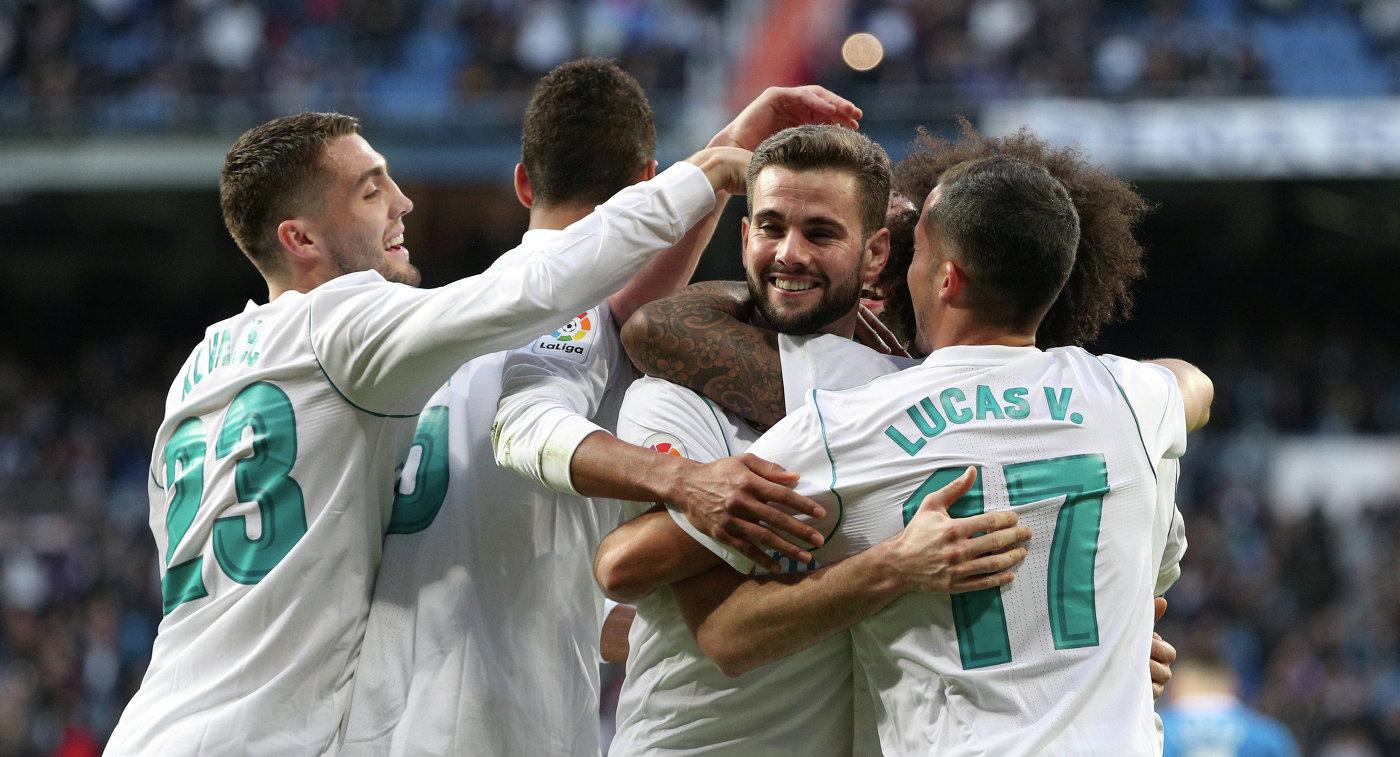 Мадридский «Реал» разгромил 7:1 «Депортиво» вчемпионате Испании пофутболу