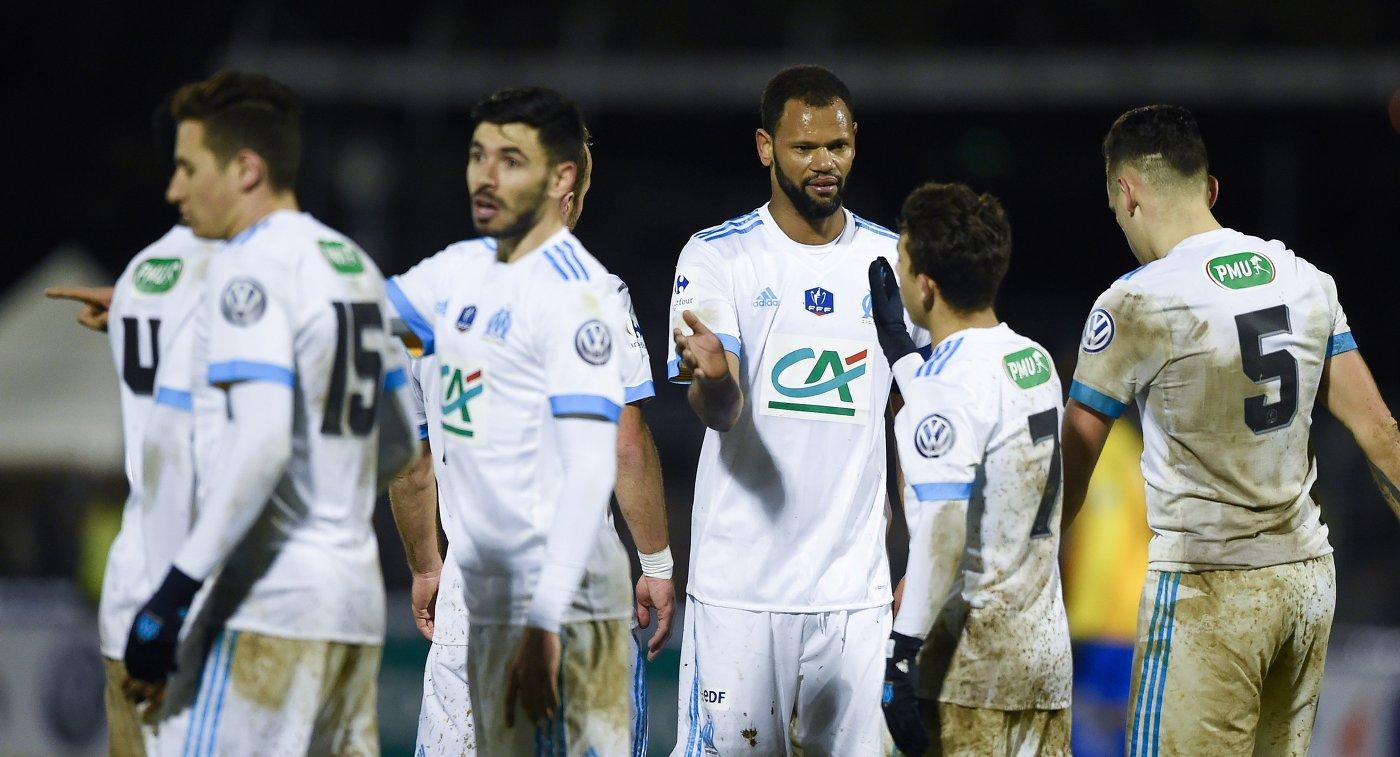 Футболисты Марселя