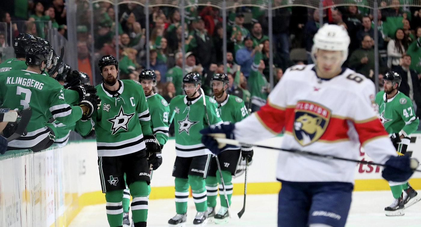 Дубль Радулова помог «Далласу» обыграть «Флориду» вматче постоянного чемпионата НХЛ