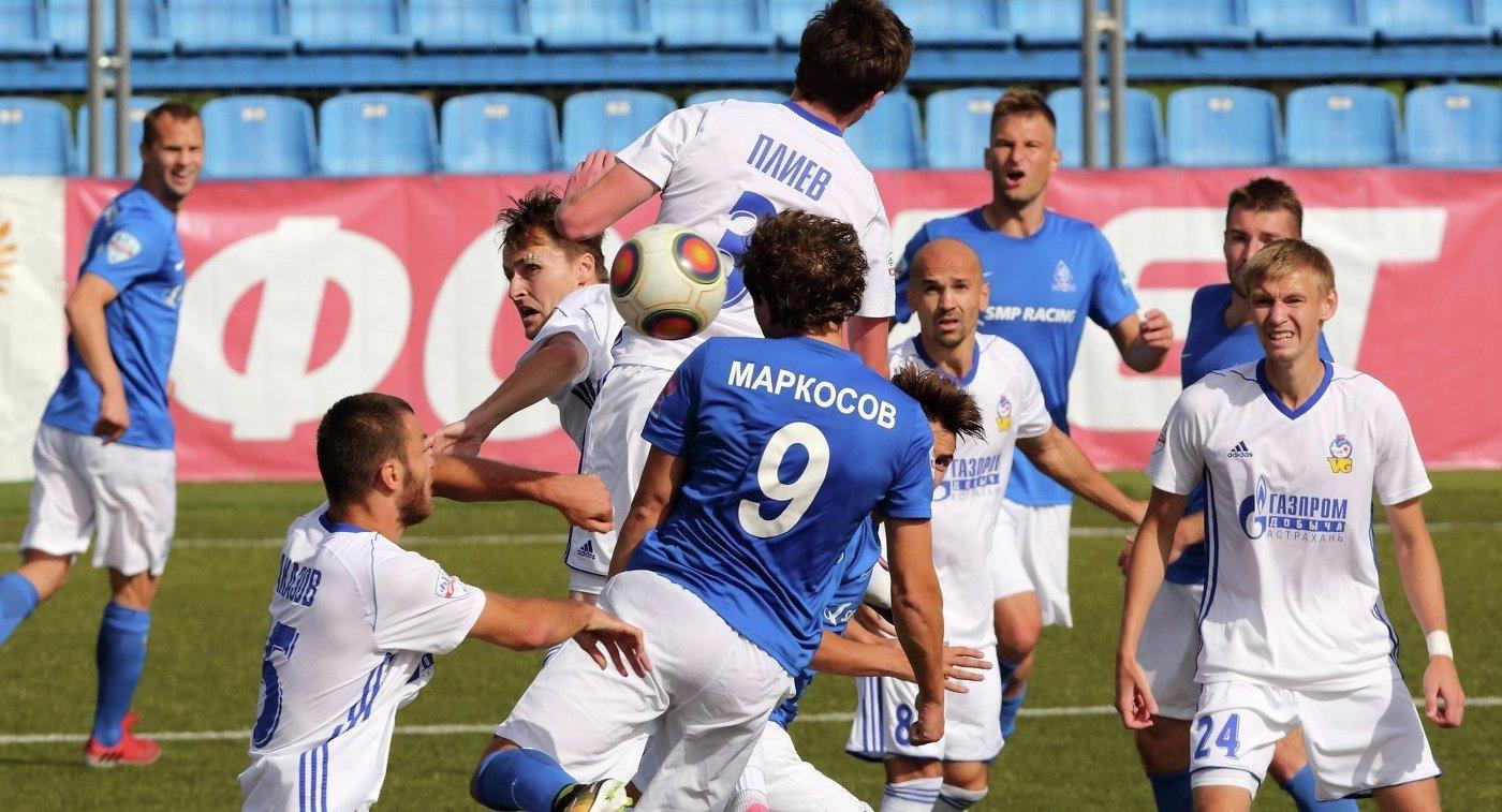 Футболисты Волгаря