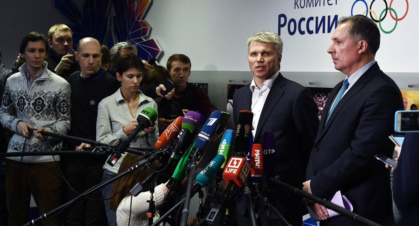 Станислав Поздняков и Павел Колобков (справа налево)