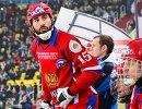 Игрок сборной России по хоккею с мячом Алан Джусоев