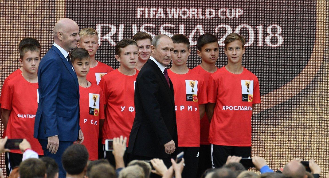 Владимир Путин обсудит подготовку кмундиалю 3мая