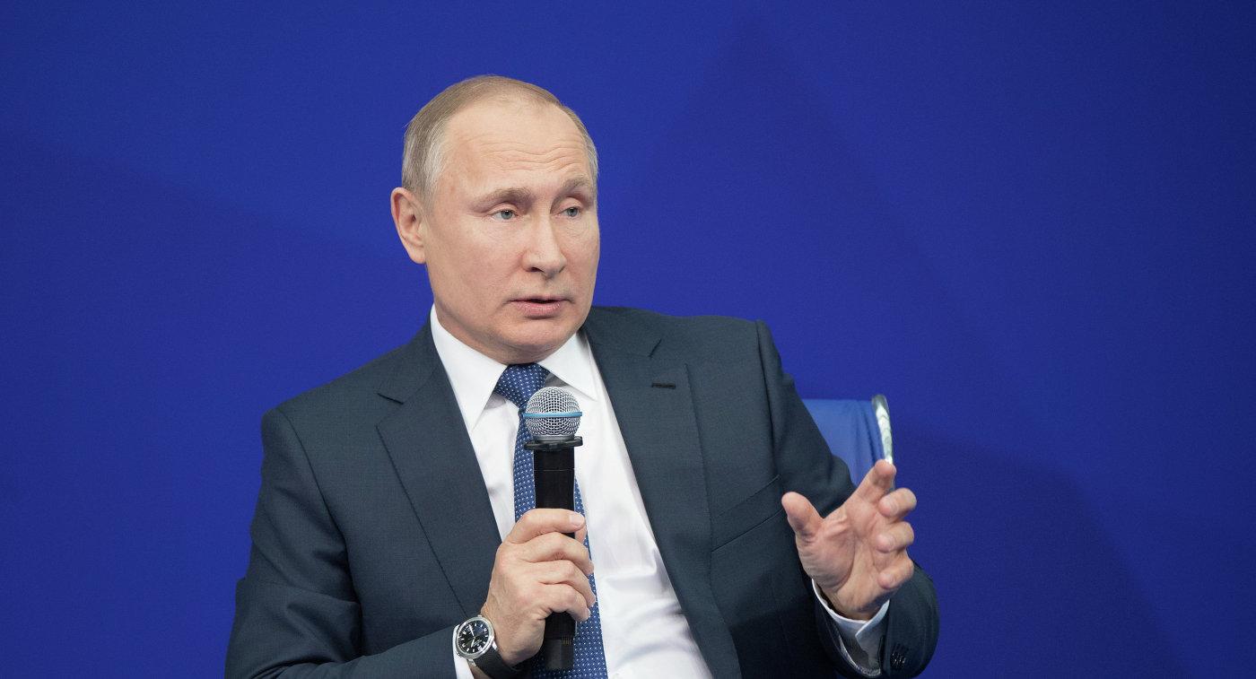 США внесли вчерный список всех жителей РФ — Путин