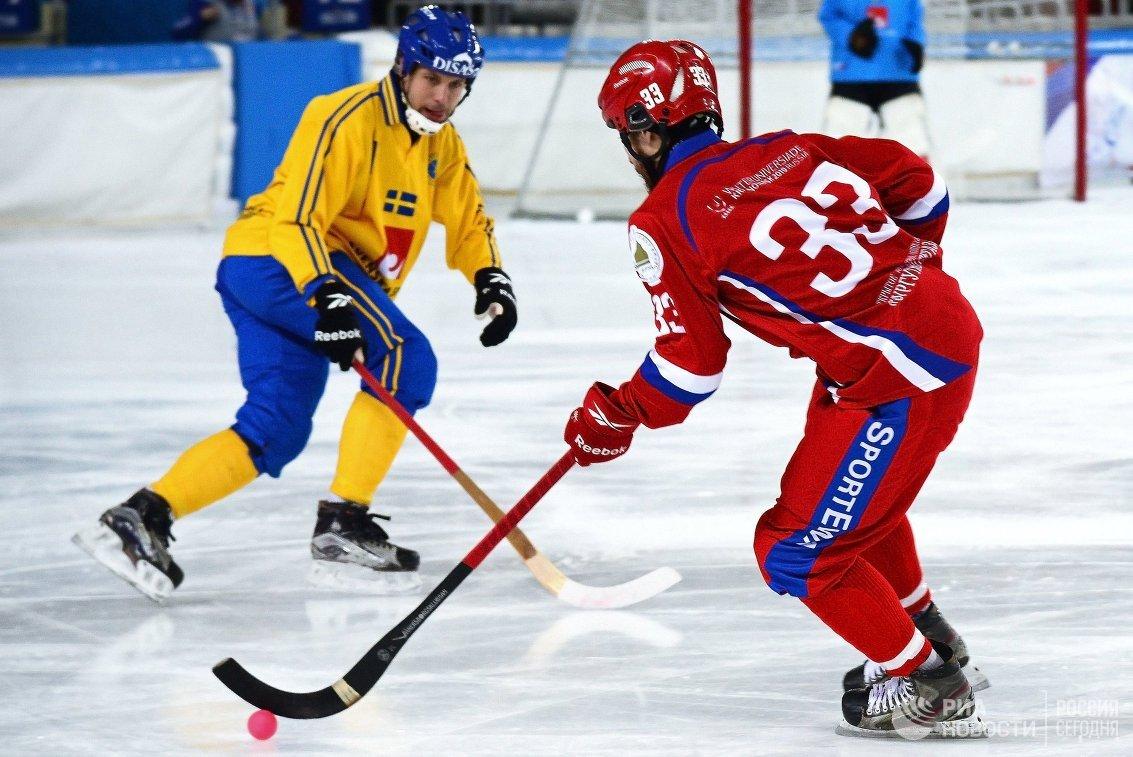 Стал известен конкурент сборной РФ почетвертьфиналуЧМ похоккею смячом