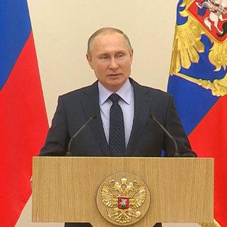 Путин попросил прощения у олимпийцев за ситуацию вокруг Игр-2018