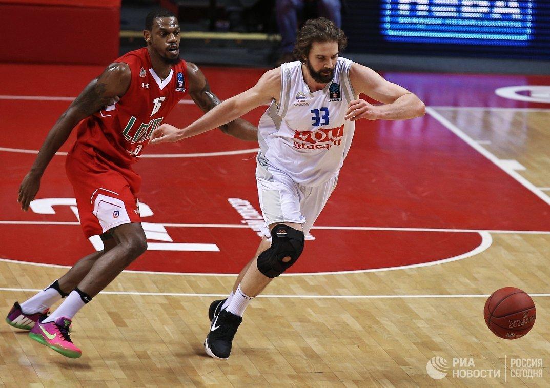 Баскетбольный «Зенит» обыграл «Летувос Ритас»