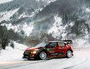 Участник этапа WRC Ралли Монте-Карло