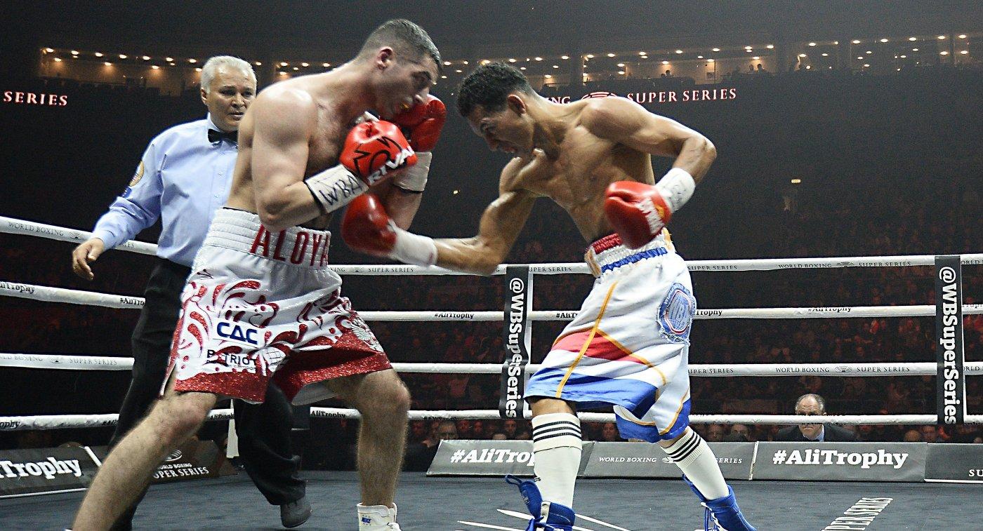 Алоян победил Эспиносу иотстоял титул WBA International