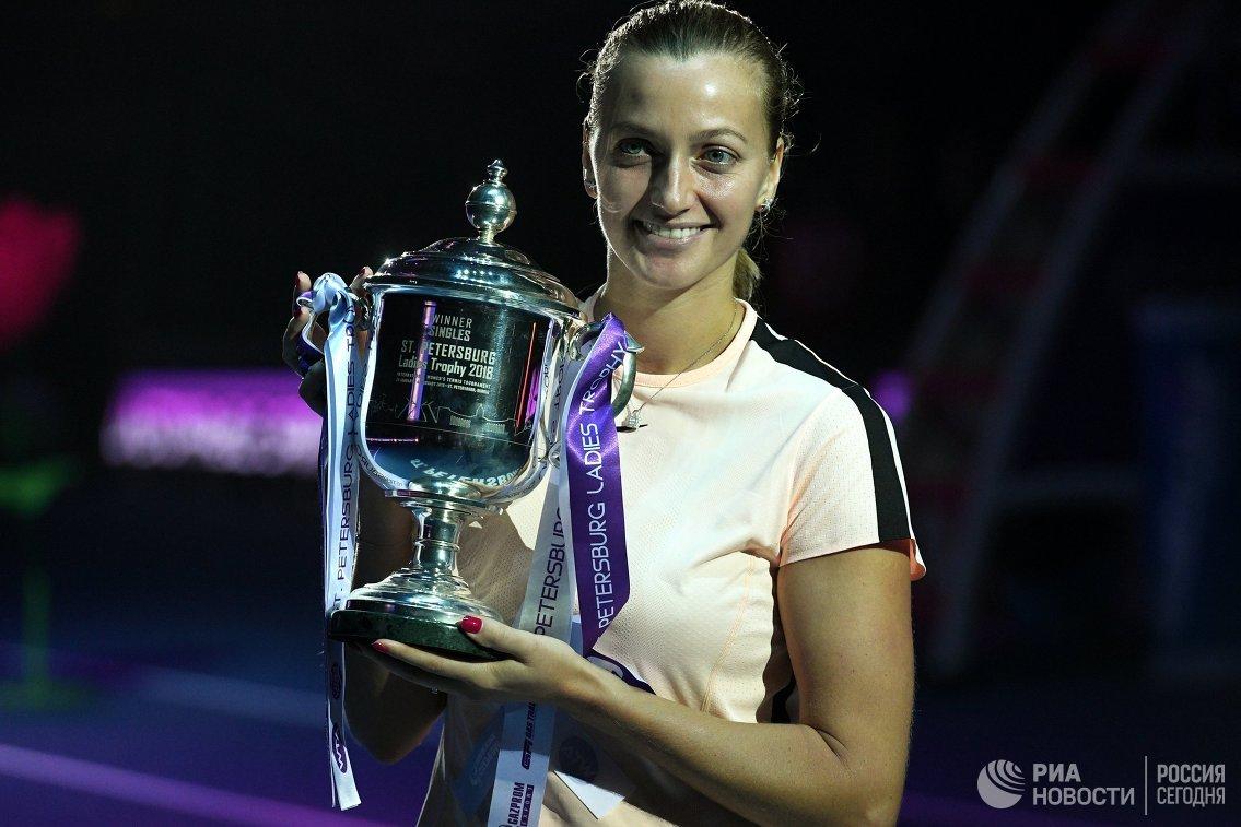 St. Petersburg Ladies Trophy. Звонарева иБачински— вфинале парного разряда
