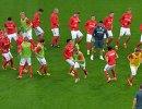 Футболисты Спартака перед матчем с Црвеной Звездой