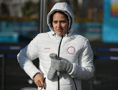 Российская керлингистка Анастасия Брызгалова