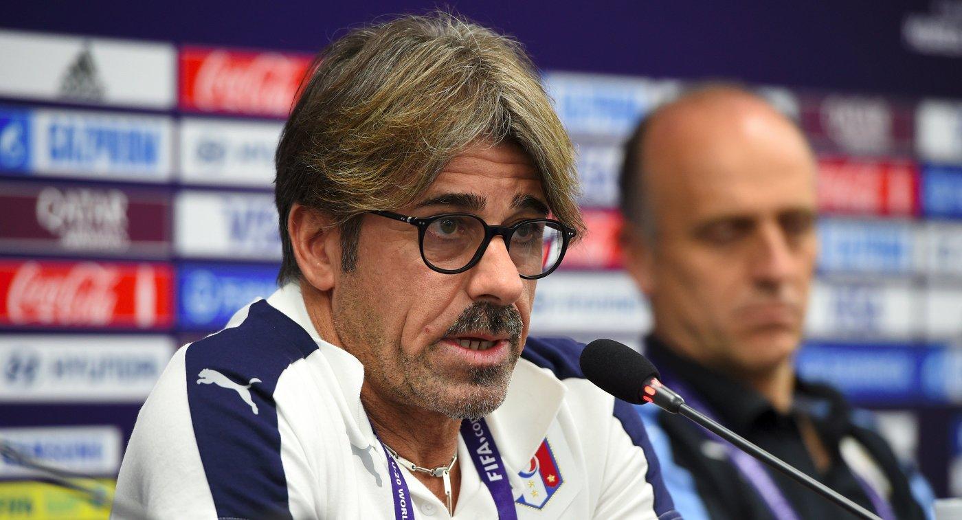 Луиджи ДиБьяджо временно возглавил сборную Италии пофутболу
