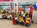 Встреча российских хоккеистов на Олимпиаде-2018