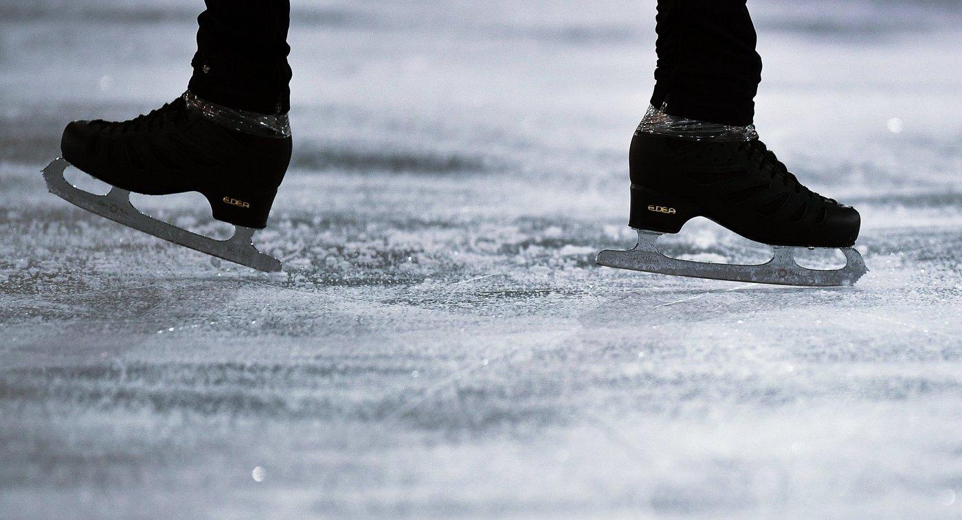Коньки фигуриста на Олимпийских играх в Пхенчхане