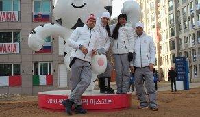 Матвей Елисеев, Татьяна Акимова, Ульяна Кайшева, Антон Бабиков (слева направо)