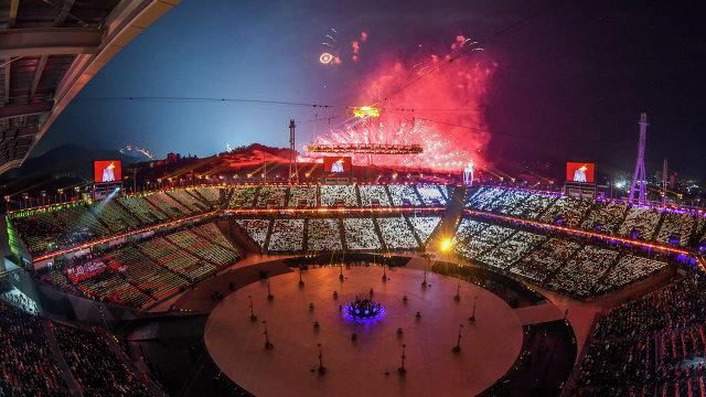Церемония открытия зимних Олимпийских игр в Пхенчхане