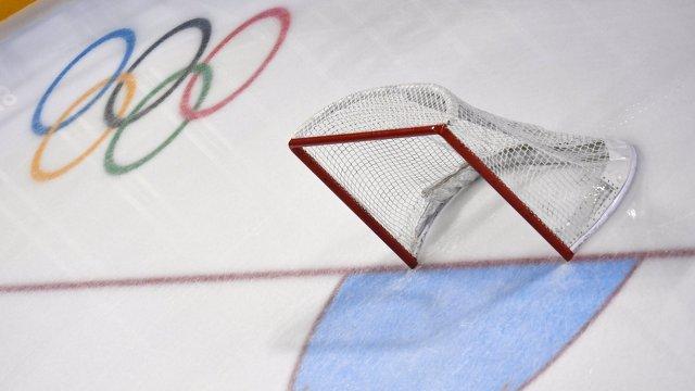 Хоккейные ворота на Олимпиаде