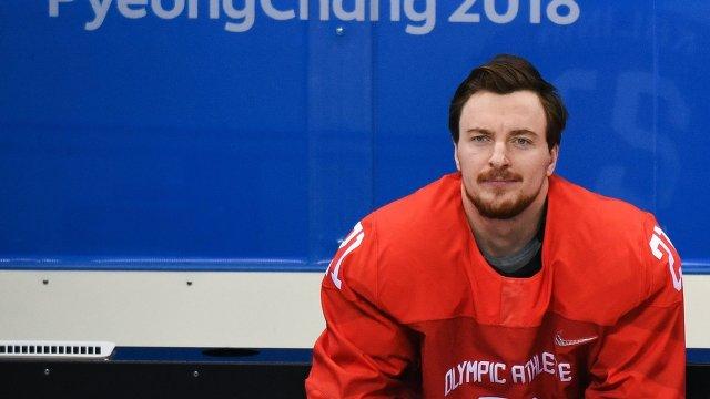 Российский хоккеист Сергей Калинин