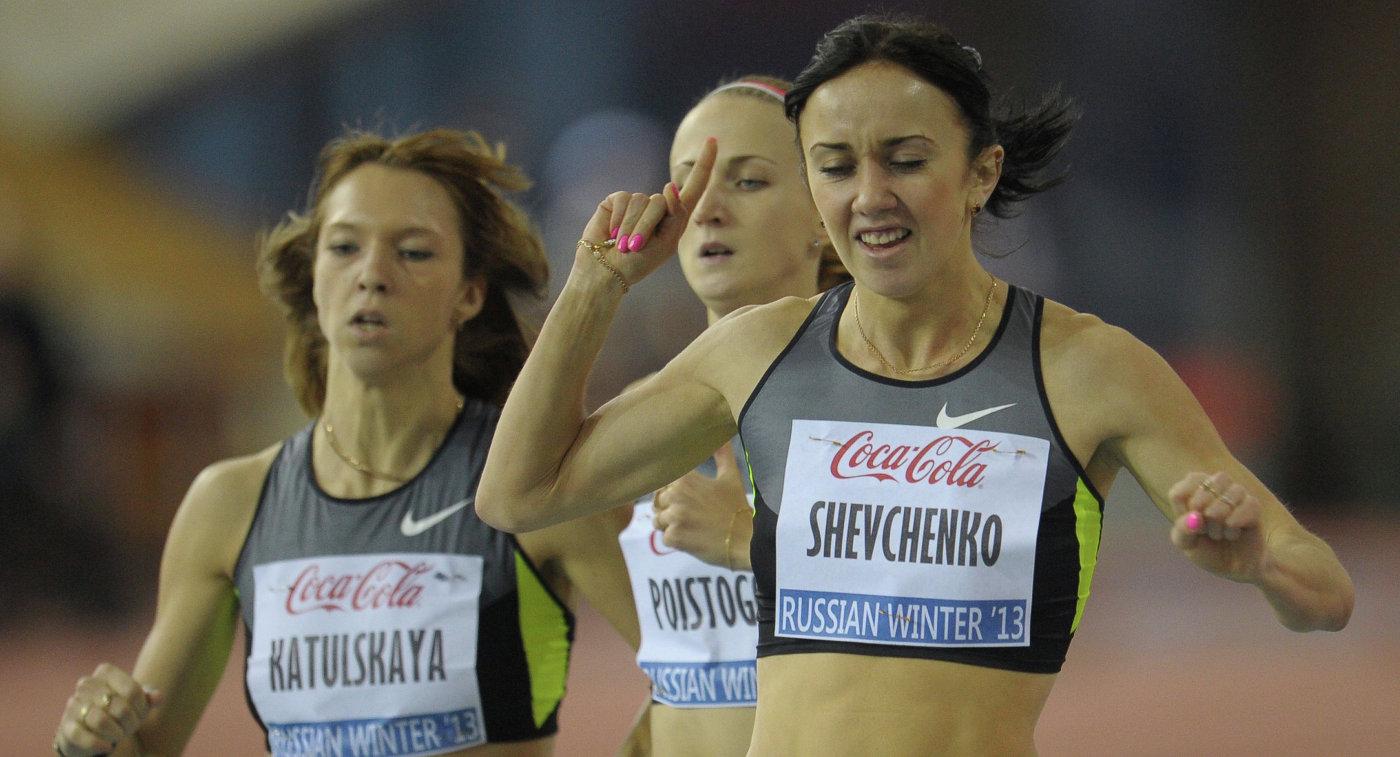Россиянки Елена Котульская (Кофанова), Екатерина Поистогова, украинка Анжела Шевченко (слева направо)