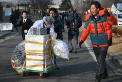 Из-за сильного ветра проводится эвакуация из пресс-центра в Олимпийской деревне
