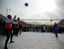 На Олимпиаде в Пхенчхане презентовали волейбол на снегу