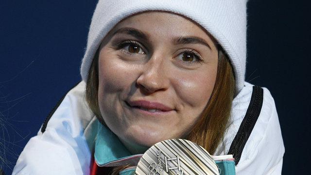 Российская лыжница Юлия Белорукова