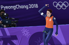Голландская конькобежка Йорин тер Морс