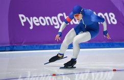 Российская конькобежка Ангелина Голикова