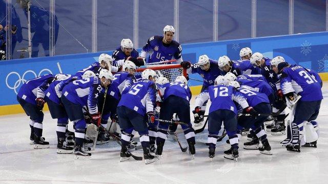 Хоккеисты сборной США
