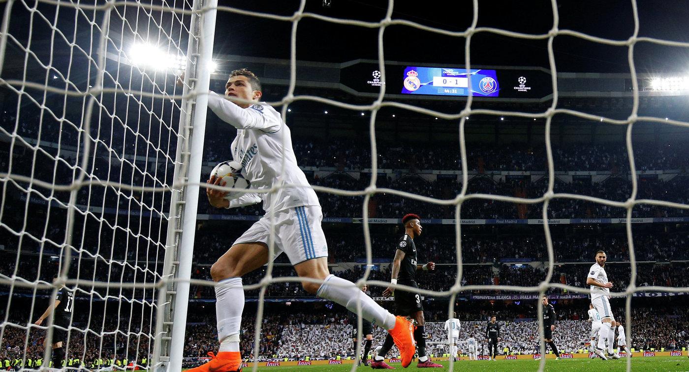 Роналду стал первым игроком в истории, забившим 100 мячей в ЛЧ за один клуб