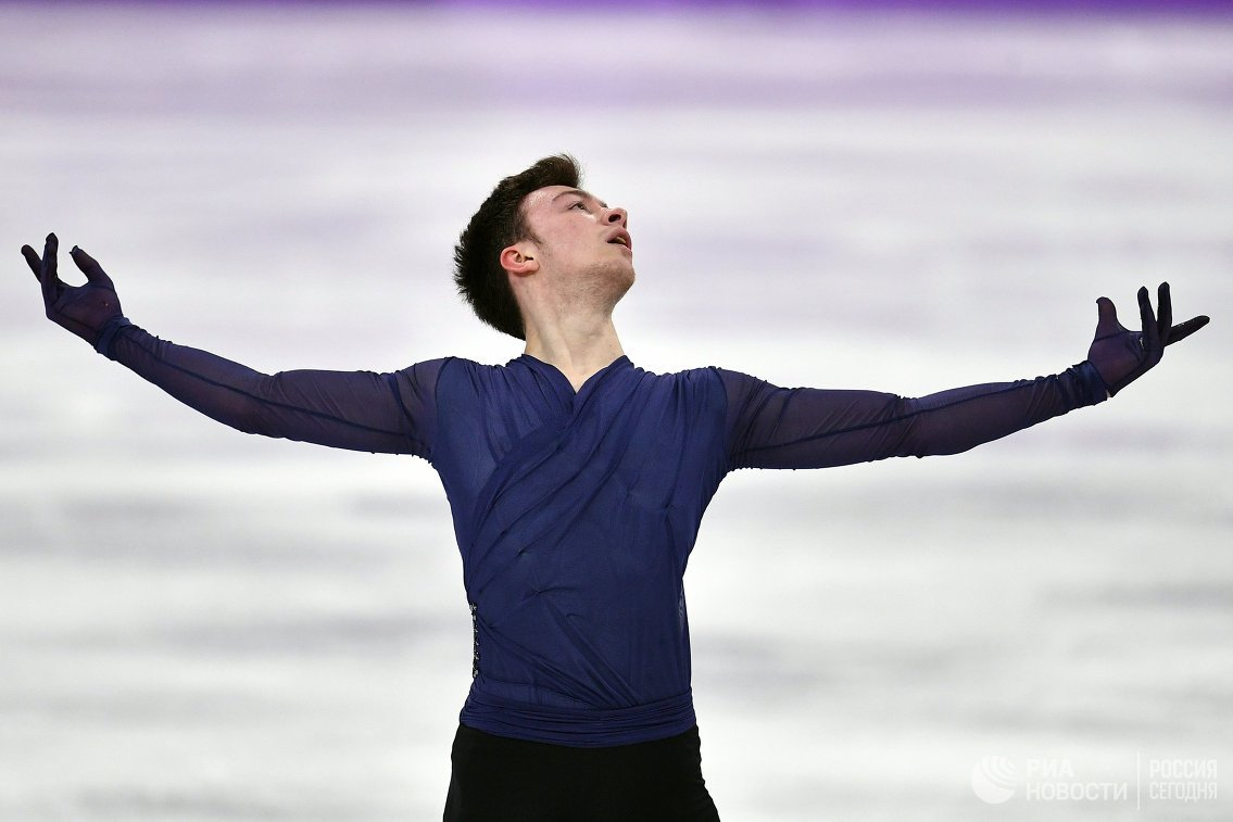 Российский фигурист Дмитрий Алиев