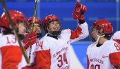 Хоккеистки сборной России