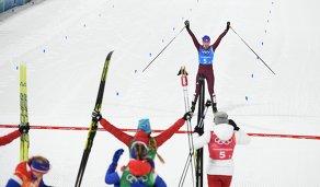 Российская лыжница Анна Нечаевская