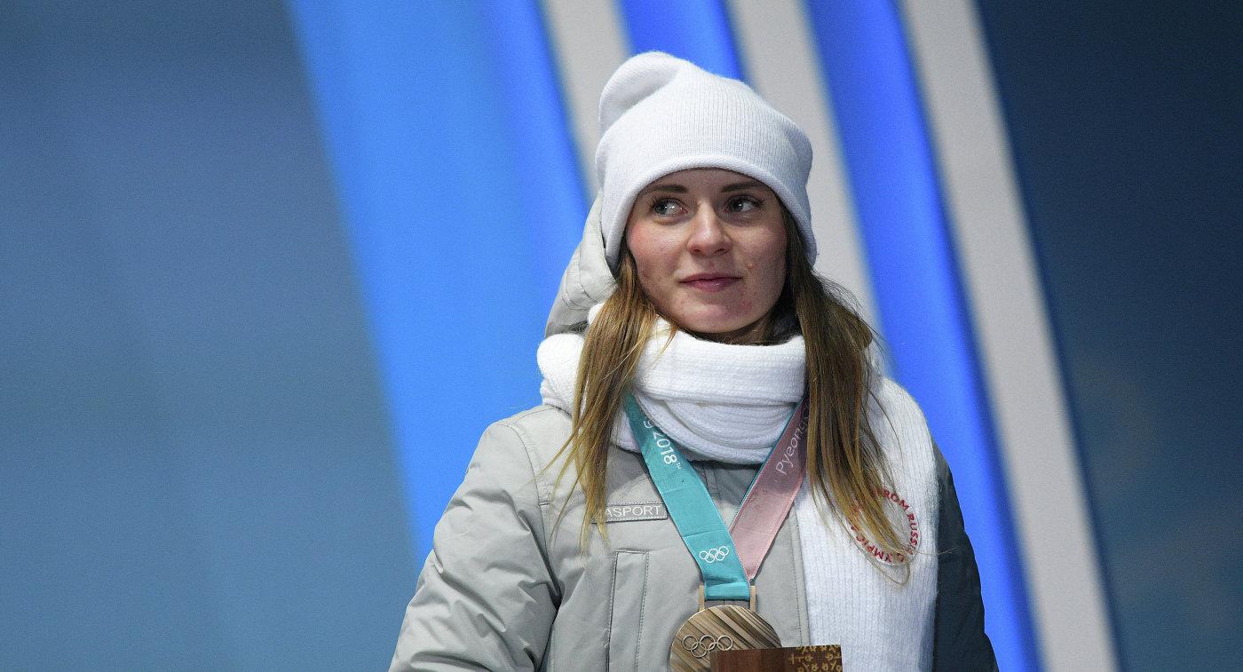 Конькобежка Воронина взяла золото насоревнованиях вКоломне