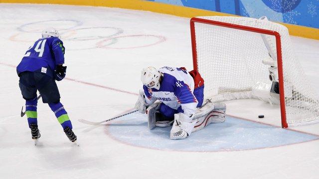 Рок помог сборной Словении занять второе место в групповом этапе на Олимпийских играх.