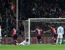Игровой момент матча чемпионата Италии Дженоа - Интер