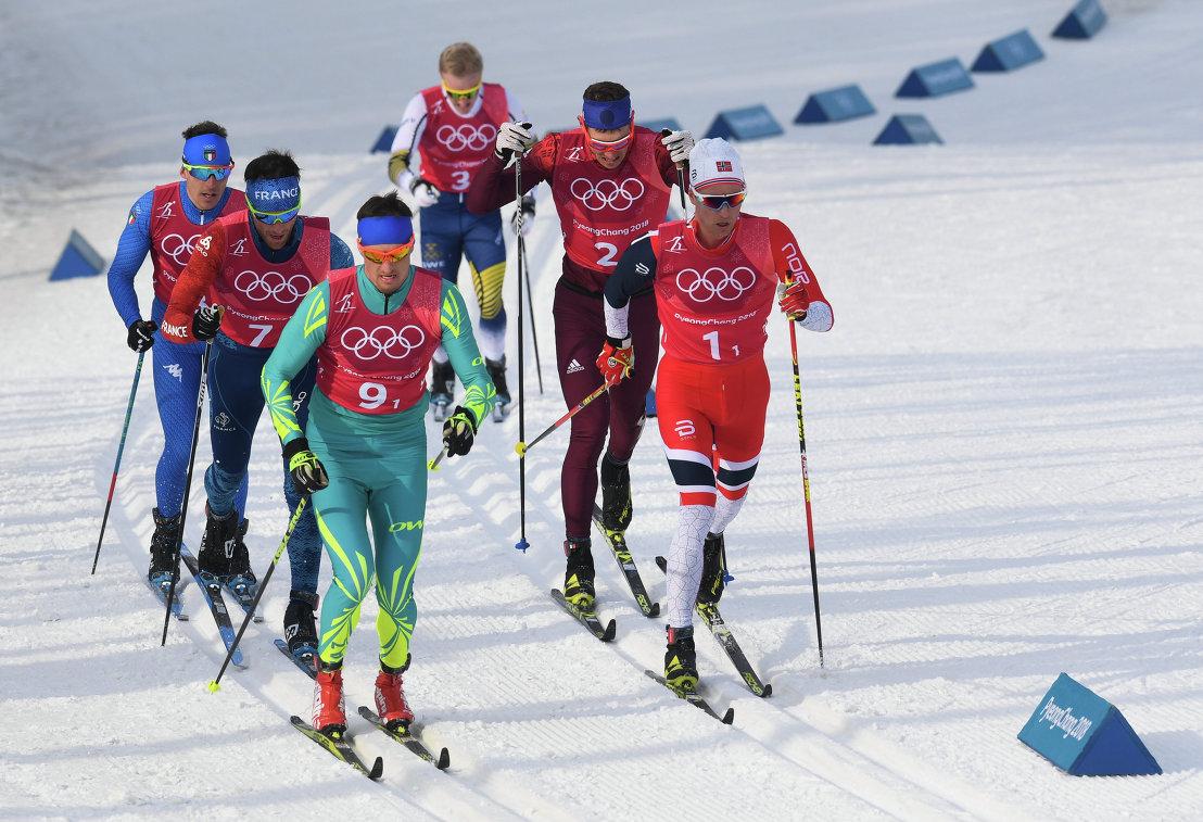 Олимпиада-2018. Лыжные гонки. Мужчины. Эстафета 4х10 км