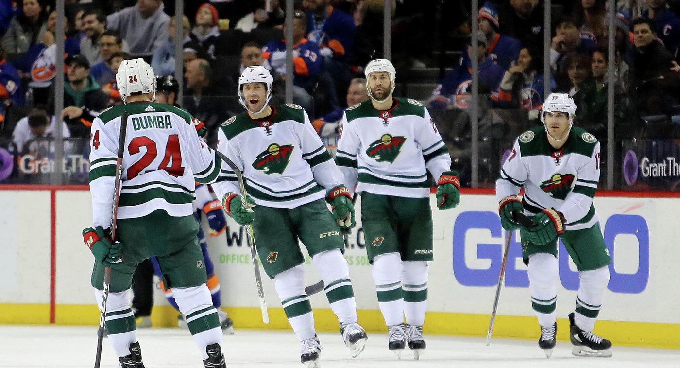 Клуб НХЛ «Миннесота» подписал договор новичка с русским нападающим Соколовым