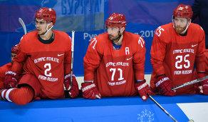 Артем Зуб, Илья Ковальчук и Михаил Григоренко (слева направо)