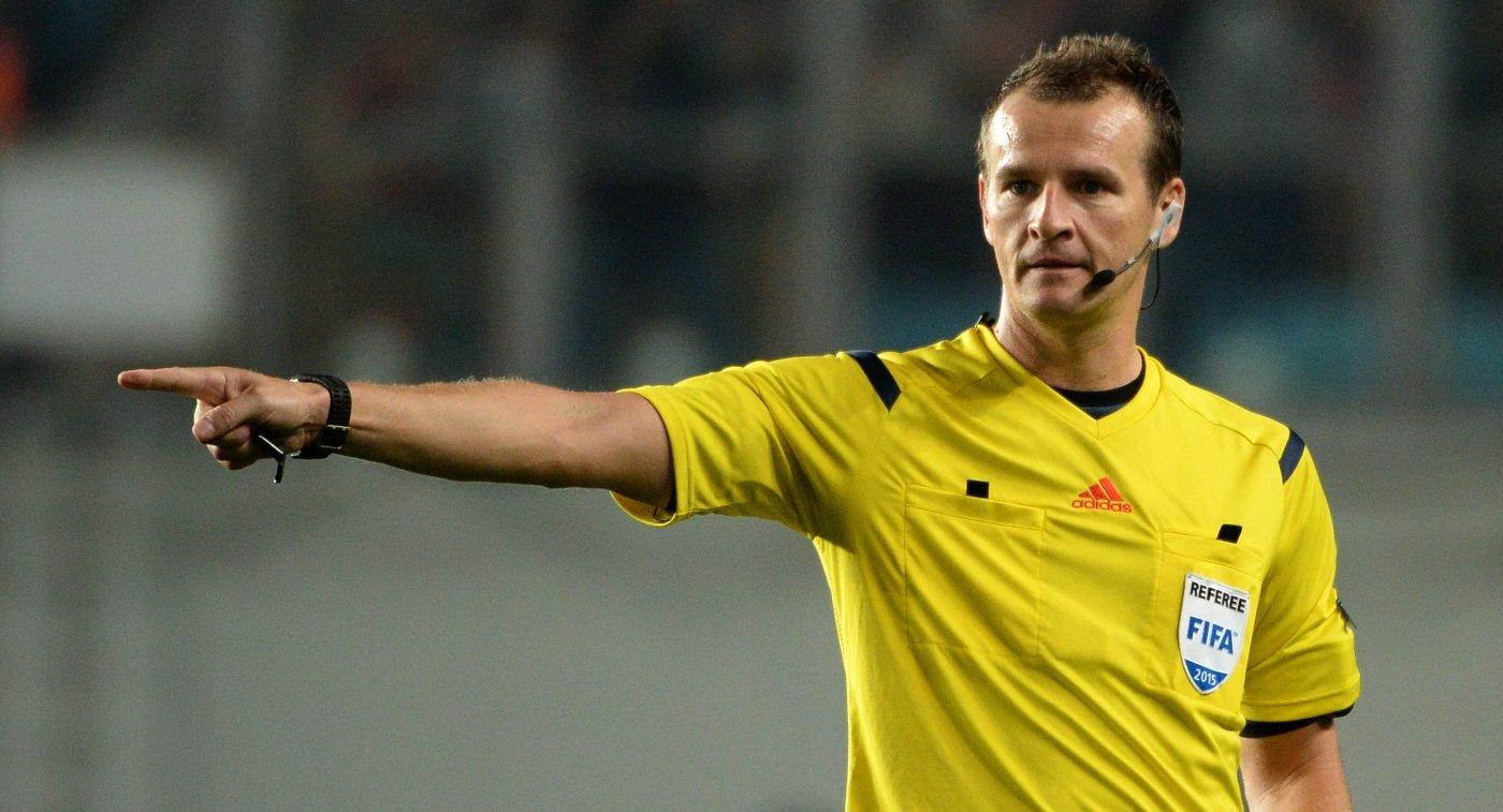 «Арсенал» иЦСКА впервом матче Лиги Европы обслужит чешская бригада арбитров